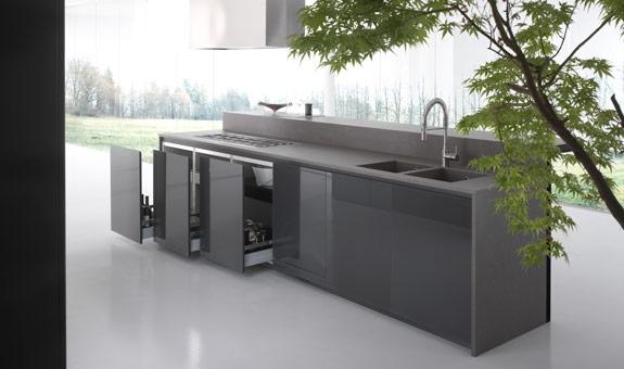 Cucine e piani cucina in gres laminato giorgio ilari - Battiscopa per cucine ...