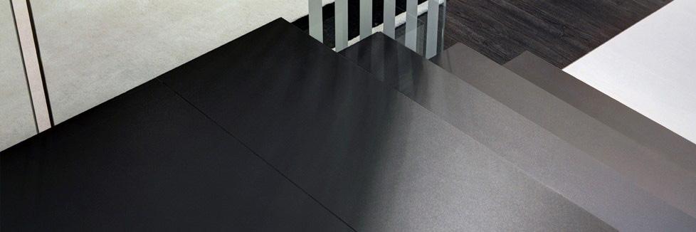 Gradini in gres laminato per scale d interni giorgio ilari for Gradini in gres