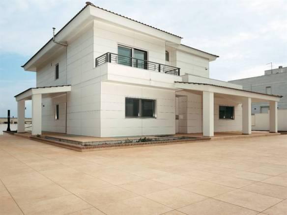 La facciata micro ventilata in gres laminato giorgio ilari - Rivestimento esterno casa ...