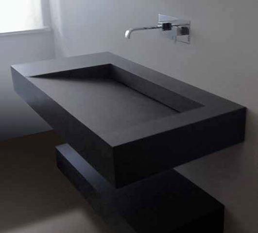 piano e lavabo in kerlite | Giorgio Ilari