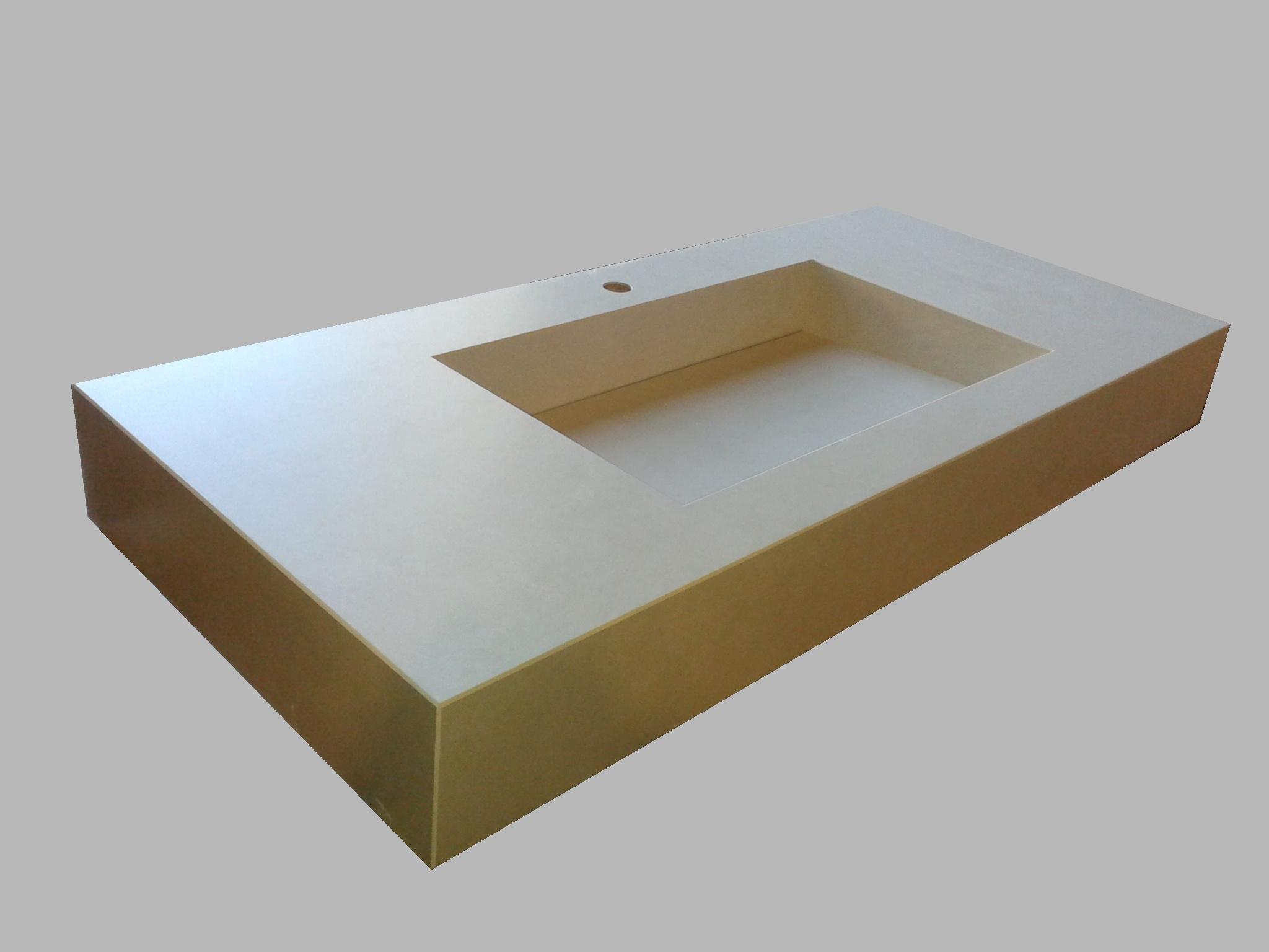 Piani e lavabi in Slimtech a disegno  Giorgio Ilari