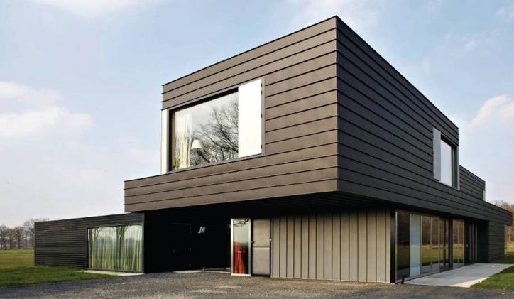 La facciata micro ventilata in gres laminato giorgio ilari for Capannone moderno