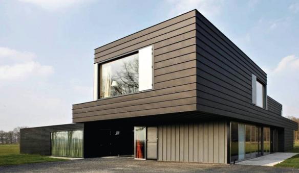 La facciata micro ventilata in gres laminato giorgio ilari for Case esterne moderne